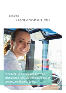 "Formation ""Conducteur de bus"""