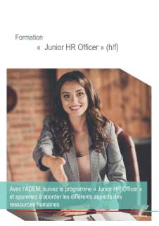 Formation «  Junior HR Officer »