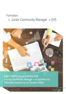 Formation «  Junior Community Manager  »